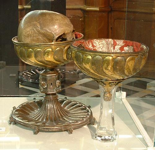 Reliques - crâne de Dagobert