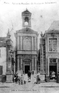 Eglise de Messines (St Nicolas en Bertaimont) (Marcel Strack)  (Fonds d'archives photographiques sur Mons d'André Faehrès)