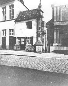 Rue de Bertaimont (Coll. Marie-Louise Choquet) (Fonds d'archives photographiques sur Mons d'André Faehrès)